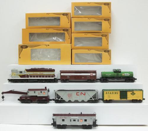 1158 Canadian Pacific Maple Leaf Limited Train Set EX/Box