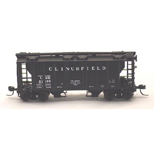 Atlas 31813 N Scale Clinchfield PS2 Covered Hopper #3